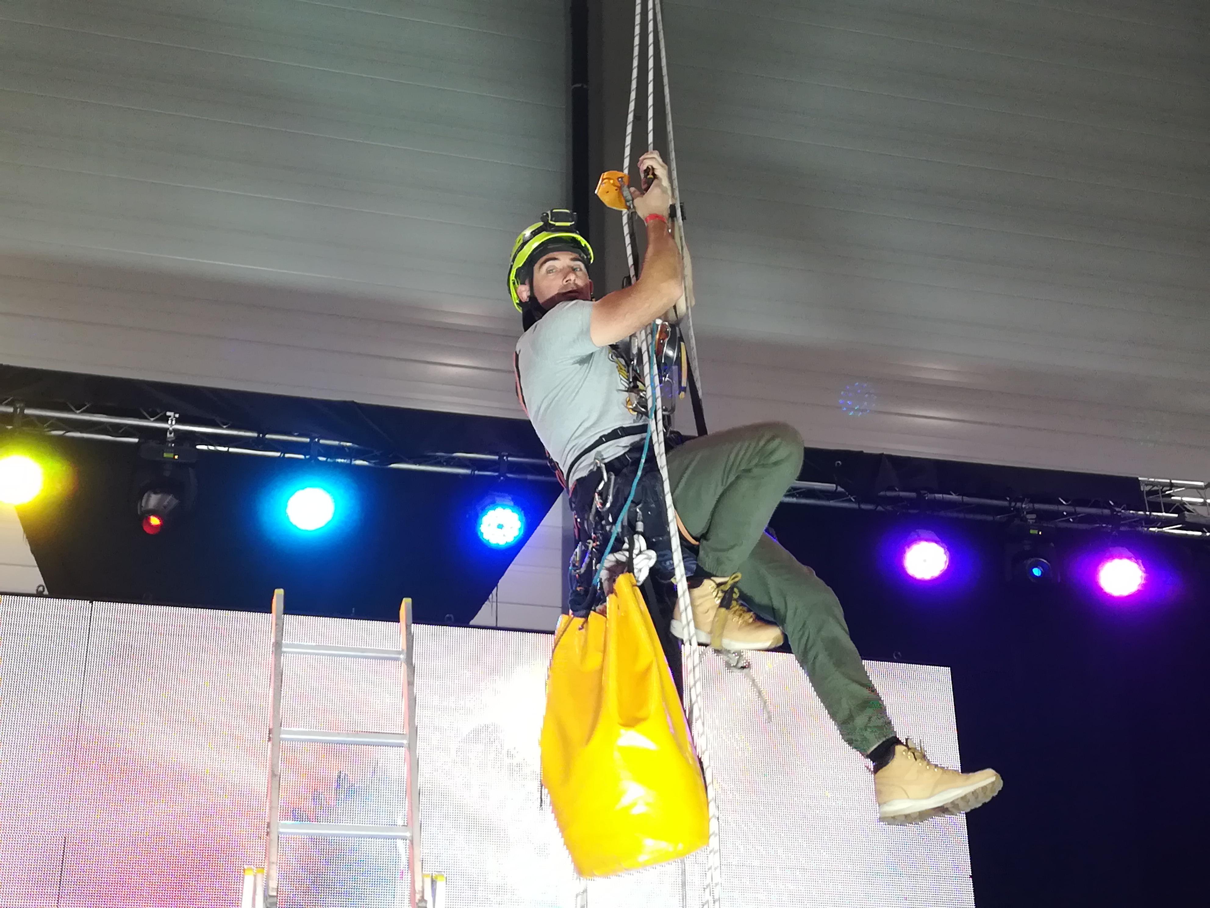 Obsługa alpinistyczna eventów, imprez integracyjnych w Lodzie.